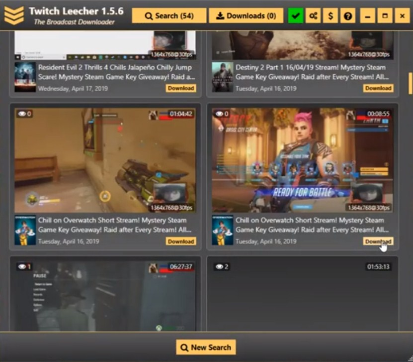How to Download Twitch VODs From someone else's