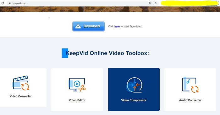 keepvid Twitch Clip and video Downloader