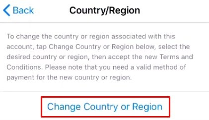 Change your iPhone location - #image not working