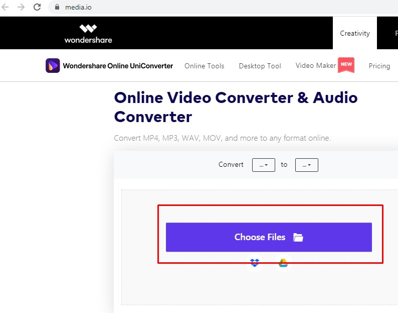 convert iPhone video format to MP4 online for free