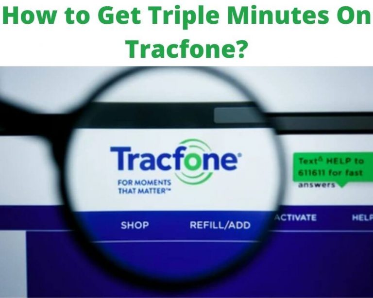 How to Get Triple Minutes on Tracfone
