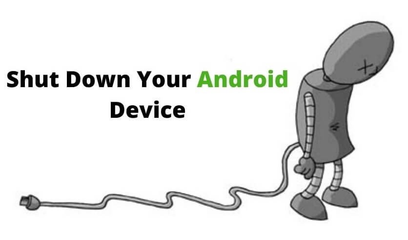 SHUT DOWN YOUR ANDROID PHONE - OMACP