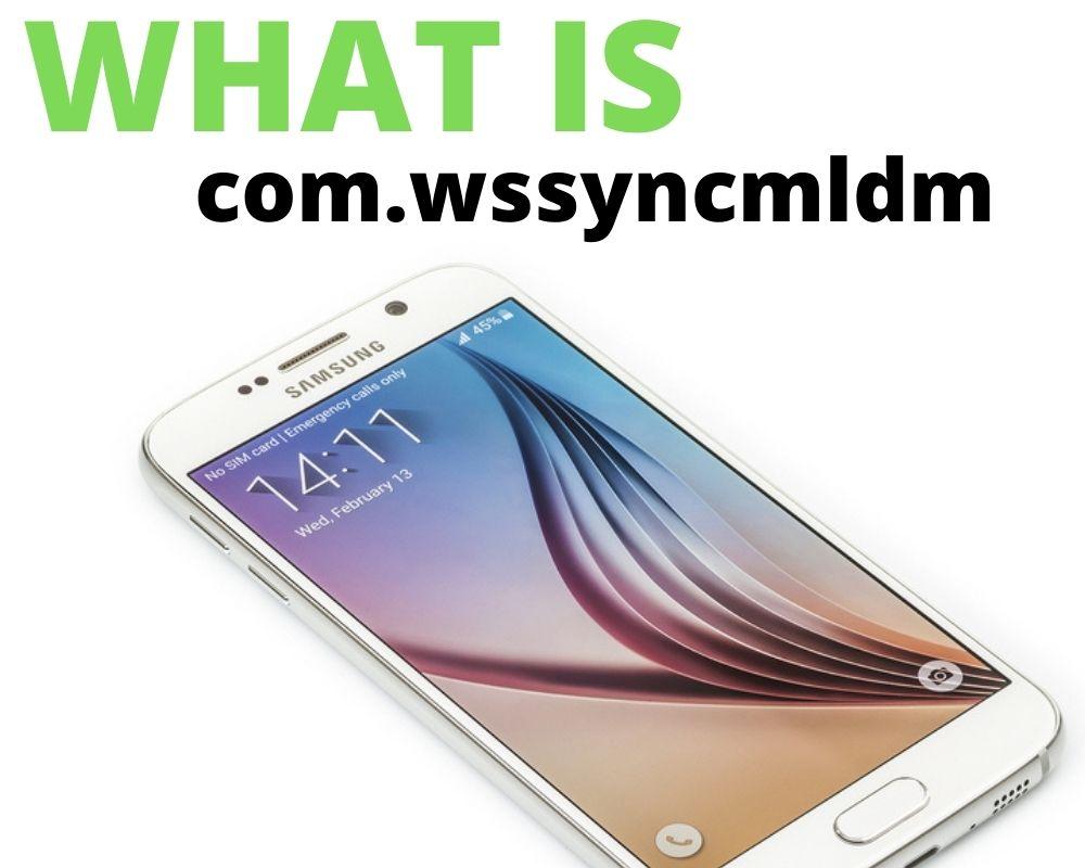 What is com.wssyncmldm