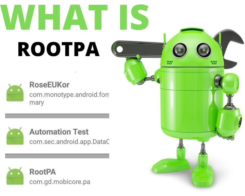 What is rootpa android app
