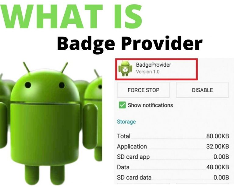 Badgeprovider Android App